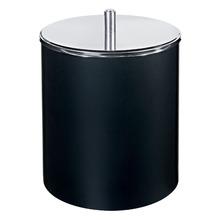 Lixeira de Banheiro Chão 5,4L Plástico Preta 3400/252 Brinox