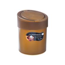 Lixeira de Banheiro Chão 5L Automática Plástico Mel 10908/0456 Coza