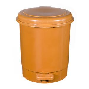 Lixeira de Banheiro Chão 5L Plástico Caramelo Pavão