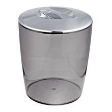 Lixeira de Banheiro Chão 5L Plástico - San Fumê Cromo Martiplast