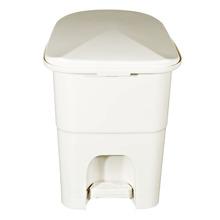 Lixeira de Banheiro Chão 6L Plástico Marfim Primafer