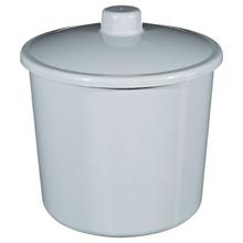 Lixeira de Banheiro Chão, Pia 6L Plástico Cinza Multiuso Primafer