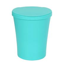 Lixeira de Banheiro Plástico Azul Tiffany 5L Manual