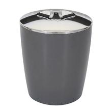 Lixeira de Banheiro Plástico New Belly Chumbo 5L Martiplast