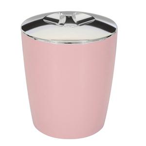 Lixeira de Banheiro Plástico New Belly Rosa 5L Martiplast