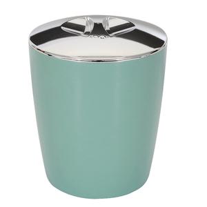 Lixeira de Banheiro Plástico New Belly Verde Menta 5L Martiplast