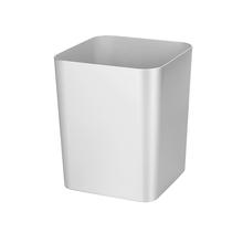 Lixeira de Banheiro Plástico Prata Metro Ultra 12L Casilla Interdesign