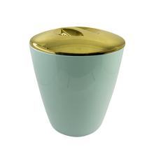 Lixeira de Banheiro Plástico Verde Menta 5L Vitra Ou