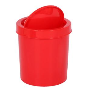 Lixeira de Banheiro Plástico Vermelho 4,3L  Basculante Primafer
