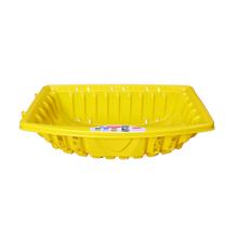 Lixeira de Calçada até 20Kg Plástico Amarelo Altimex