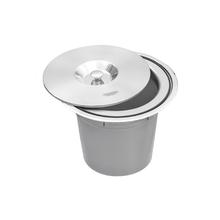 Lixeira de Embutir Inox 8L Clean Tramontina