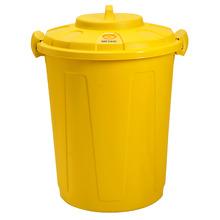 Lixeira Multiuso Polipropileno Amarela 60L Manual Gioplast