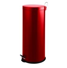 Lixeira Multiuso Vermelha 30L Pedal Spaceo