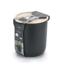 Lixeira para Pia de Cozinha 3,5L Plástico Branco Arthi