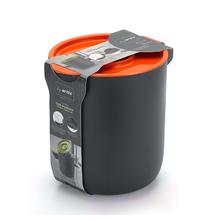 Lixeira para Pia de Cozinha 3,5L Plástico Laranja Arthi