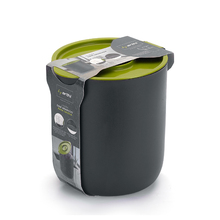 Lixeira para Pia de Cozinha 3,5L Plástico Verde Arthi