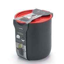 Lixeira para Pia de Cozinha 3,5L Plástico Vermelho Arthi