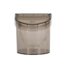 Lixeira para Pia de Cozinha Acrílico 2,7L Cinza Neutral