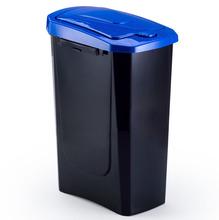 Lixeira Seletiva Plástico Azul 15 L Manual Arthi