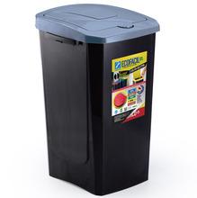 Lixeira Seletiva Plástico Cinza 30 L Manual Arthi