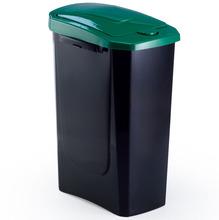 Lixeira Seletiva Plástico Verde 15 L Manual Arthi