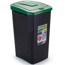 Lixeira Seletiva Plástico Verde 30 L Manual Arthi