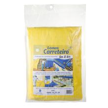 Lona Carreteiro 5X4 Amarela Plasitap