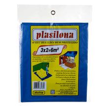 Lona Plástica 3X2 Azul Plasitap