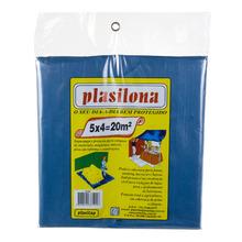 Lona Plástica 5X4 Azul Plasitap