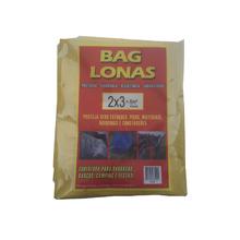 Lona Plástica Amarela 2x3 Brasil Bag