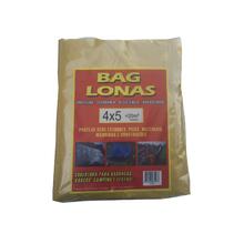 Lona Plástica Amarela 4x5 Brasil Bag