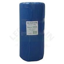 Lona Plástica Azul 4,00m Largura 120 Micras Brf Lonas