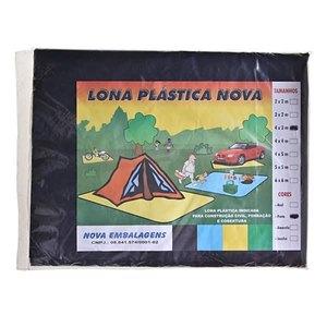 LONA PLASTICA P/PROTECAO CULTIVO TERMOPLASTICO PRETA COMPRIMENTO 3,00 M LARGURA 1,00 M