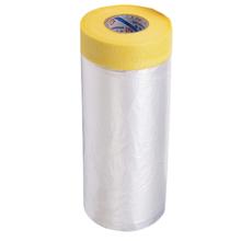 Lona Plástica para Pintura com Fita Crepe 1,1m x 20cm
