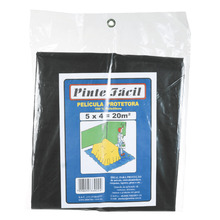 Lona Plástica Pinte Fácil 5X4 Plasitap
