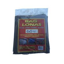 Lona Plástica Preta 6x5 Brasil Bag