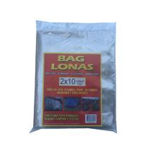 Lona Plástica Transparente Canela 2x10 Brasil Bag