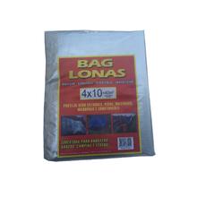 Lona Plástica Transparente Canela 4x10 Brasil Bag