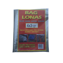 Lona Plástica Transparente Canela 4x3 Brasil Bag