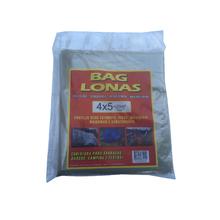 Lona Plástica Transparente Canela 4x5 Brasil Bag