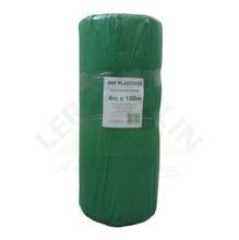 Lona Plástica Verde 4,00m Largura 120 Micras Brf Lonas
