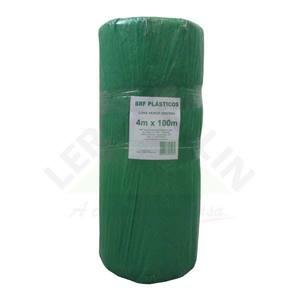 Lona pl stica verde 120 micras 4x100m brf lonas leroy merlin for Lona toldo leroy merlin