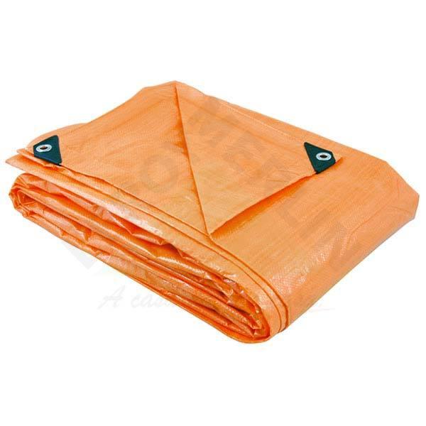 lona de polietileno laranja 6x5m vonder leroy merlin