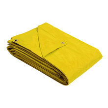 Lona Reforçada Polietileno Amarela 2x2m 100 micra* Axton