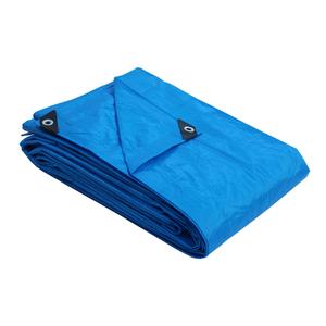 Lona Reforçada Polietileno Azul 4x4m 160 micra* Axton