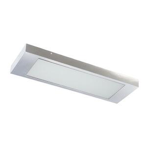 Luminária Retangular 2 Lâmp. T8 Bivolt Branco Pantoja