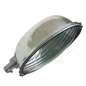 Luminária Alumínio 32,7x24,5cm Oval Prata Levilux