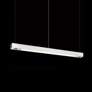 Luminária Alumínio/Vidro Branca MM Iluminação