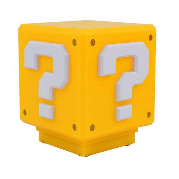 Luminária Bloco Interrogação Super Mario Bros | Leroy Merlin