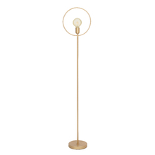 Luminária de Chão Dourada 1,5m Nami Spot Line